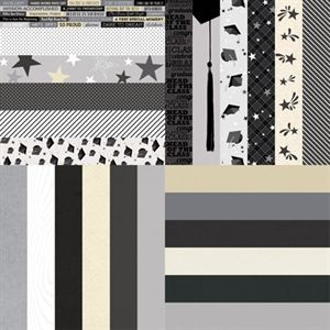 Picture of The Graduate and Celebrate Collection by Katie Pertiet Border Strips - Set of 12